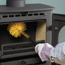 Get a professional to inspect and clean chimney