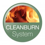 Cleanburn logo for wood burning stoves
