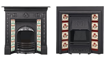 Tiled Convector Fireplaces