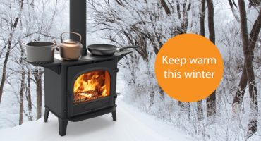 How a wood burning stove can help you this winter