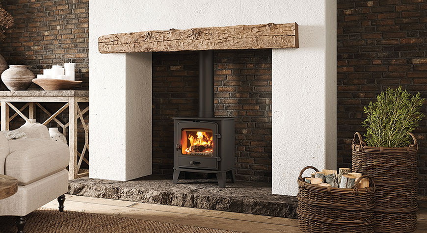 Stovax County 5 Wood Burning and Multi-fuel Stove