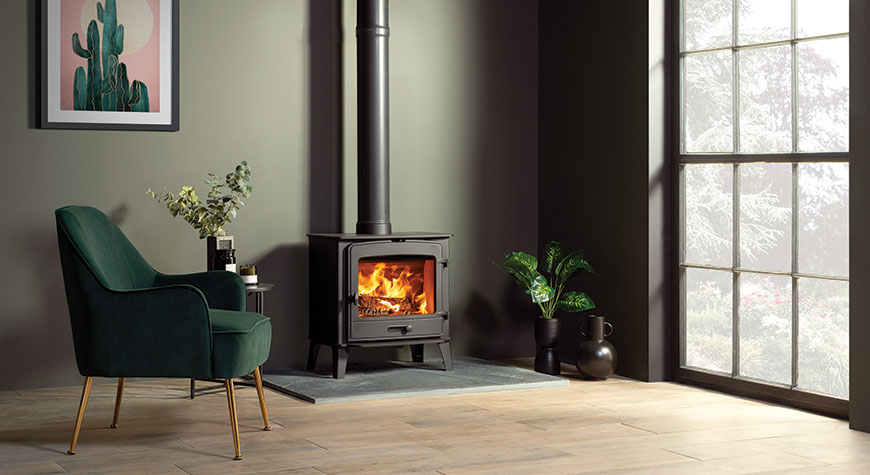 Stovax County 8 Wood burning stove