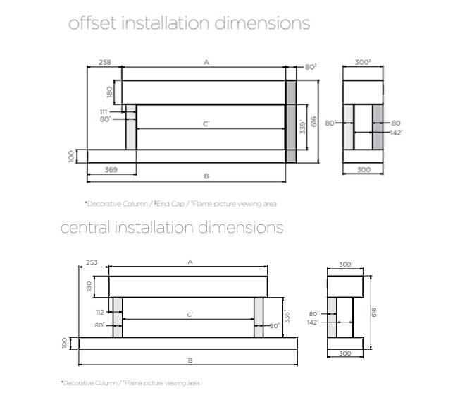 Skope Trento Suites Dimensions