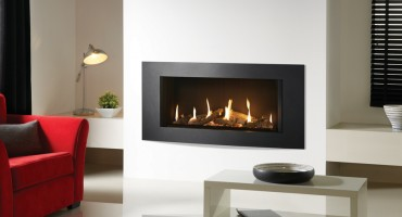 Gazco Eclipse gas fire…into the light!