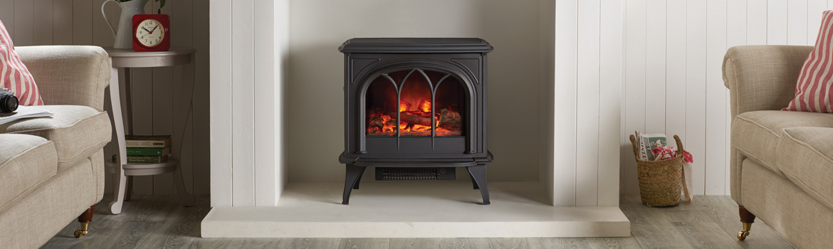 traditional electric stoves stovax gazco. Black Bedroom Furniture Sets. Home Design Ideas