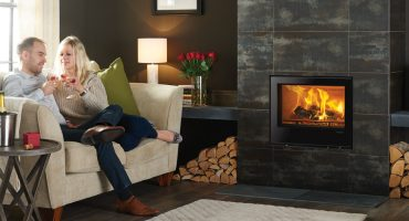 Contemporary multi-fuel fireplaces