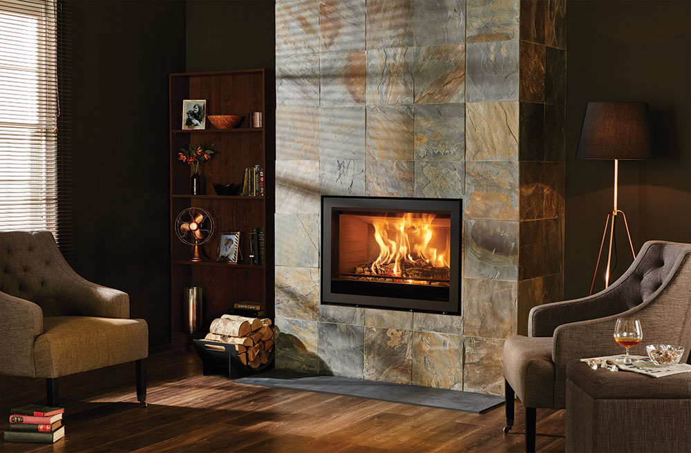 Elise Edge Wood Burning Inset Fires Amp Multi Fuel Inset