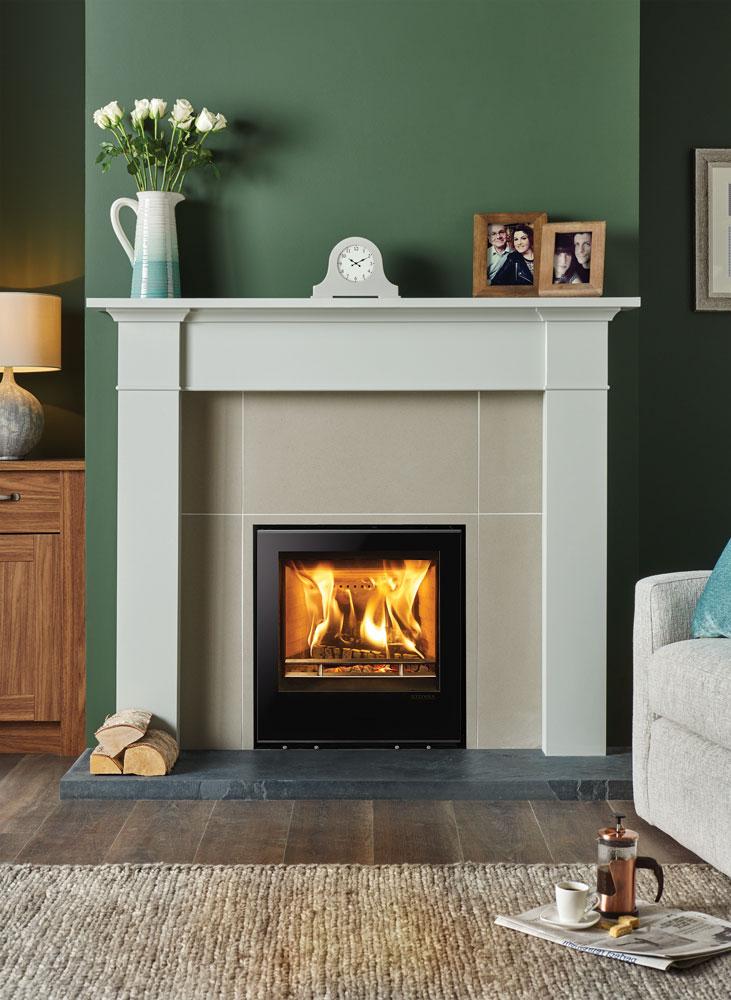 Elise Edge Wood Burning Inset Fires Amp Multi Fuel Inset