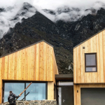 Mel and Rob Ferguson choose a Stovax Studio wood burner for their mountain property