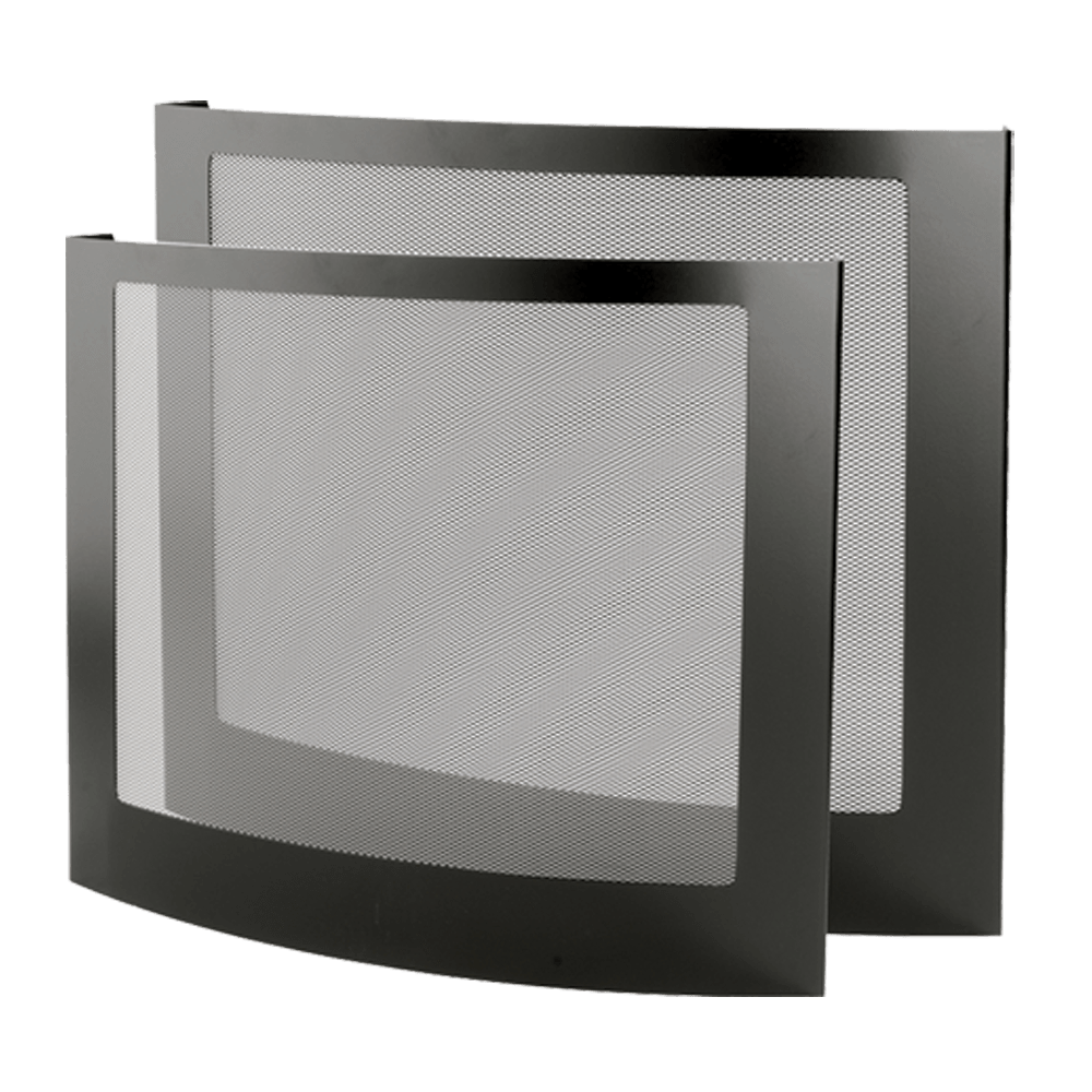 3 Panel Fire Screen Stovax Accessories