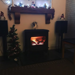 Dad felt left out after hearing about the competition so here is his #festivefireside with his Huntingdon 40 gas stove 🔥