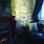 #festivefireside