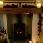 Here is ours! #FestiveFireplace