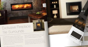All-new Stovax and Gazco Fireplace Tile Surrounds brochure