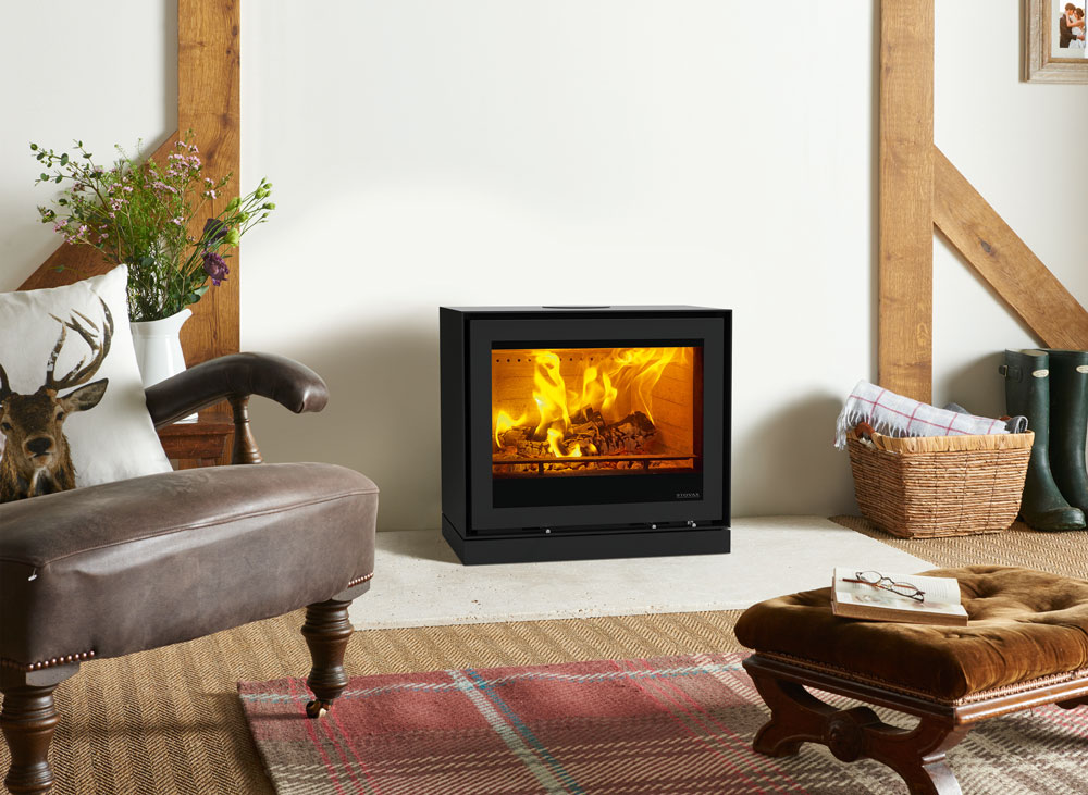 Wood Fireplace freestanding wood fireplace : Freestanding Elise 680 Wood Burning and Multi-fuel Stoves - Stovax ...