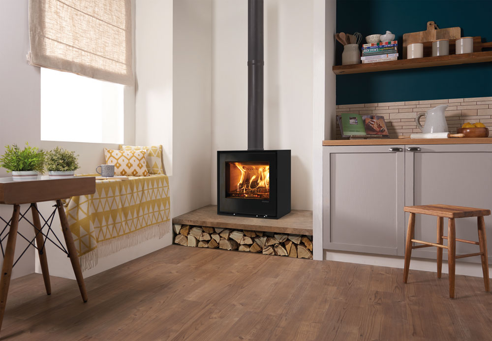 Wood Fireplace freestanding wood fireplace : Freestanding Elise 540 Wood Burning and Multi-fuel Stoves - Stovax ...