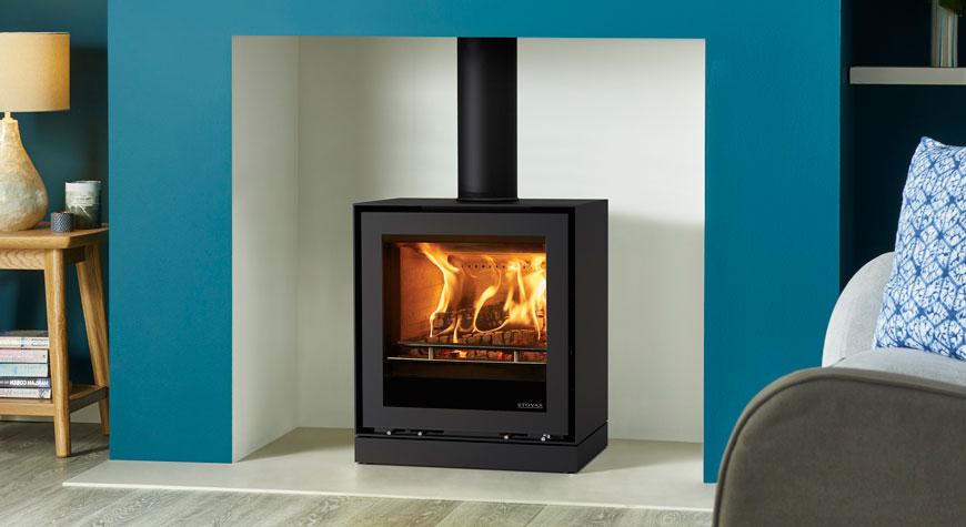 Freestanding Elise 540 Wood Burning And Multi Fuel Stoves