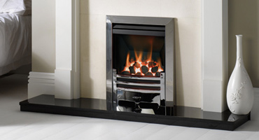 Gas fires and woodburning stoves are highly efficient