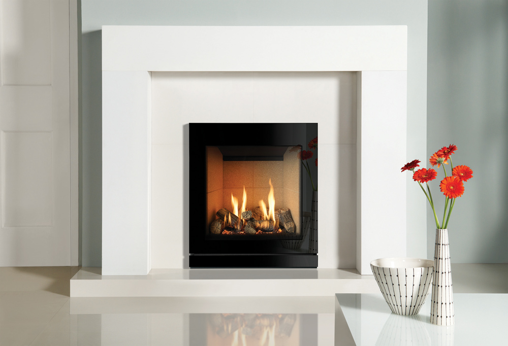 Riva2 530 670 designio2 glass gas fires gazco fires for Fireplace surrounds for gas fires
