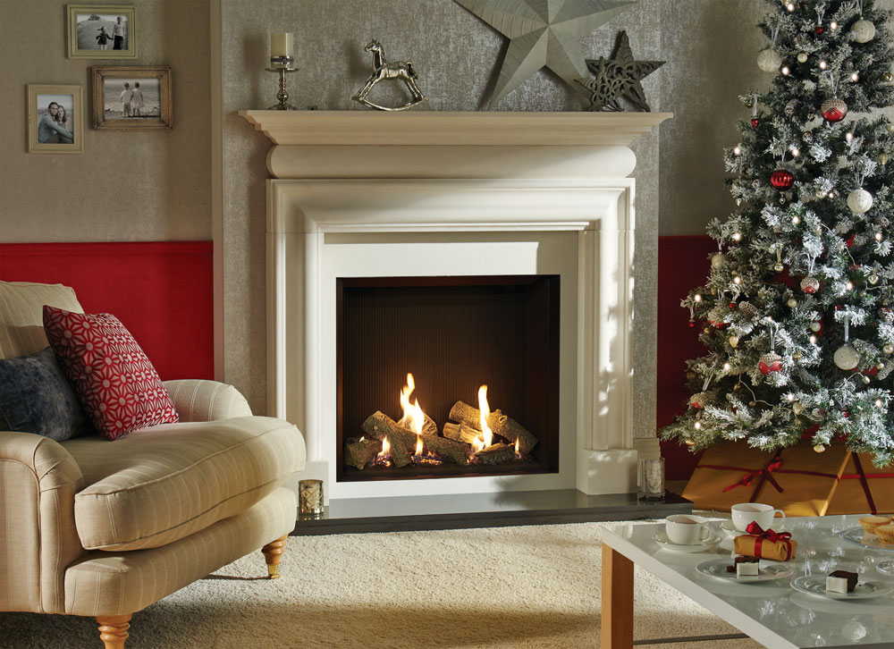 Riva2 750hl edge gas fires for Fireplace surrounds for gas fires