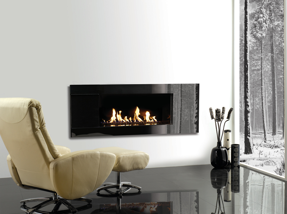 Studio Glass Gas Fires Gazco Built In Fires Contemporary Fireplaces