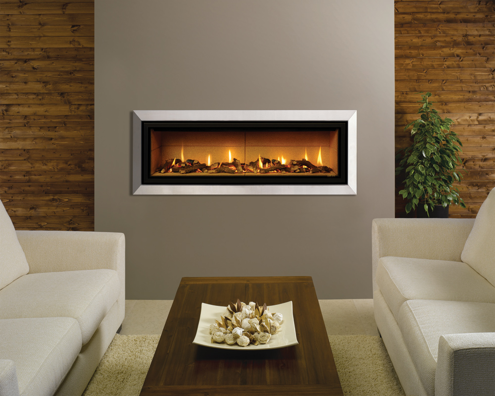 Studio bauhaus gas fires for Fireplace surrounds for gas fires