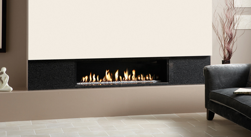 Studio Edge Gas Fires Gazco Built In Fires Contemporary