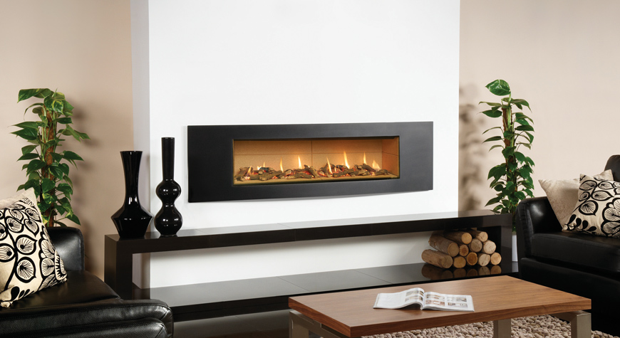 Studio Verve Gas Fires - Gazco Built In Fires ...