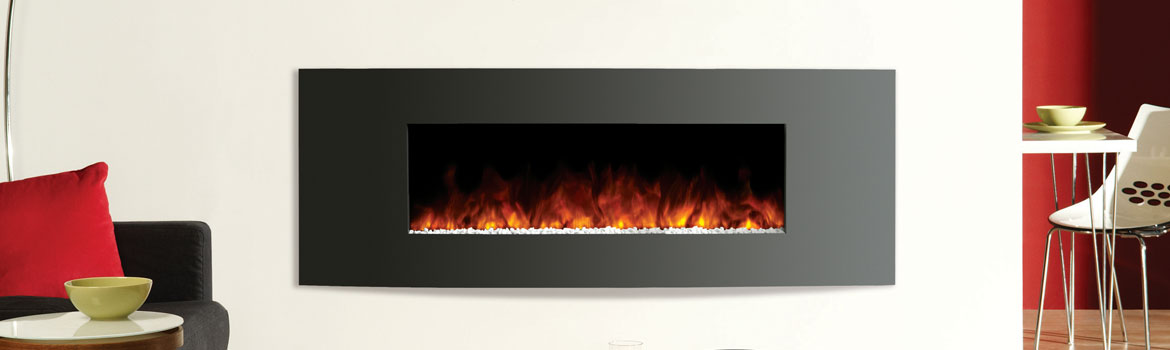 Contemporary Electric Fire Perfect All Year Round!