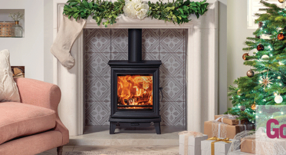 Get the look – Chesterfield 5 wood burning stove featured in Good Homes Magazine!