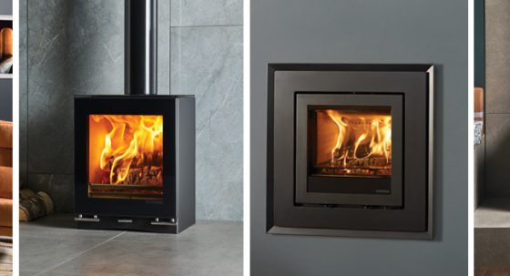 5 contemporary wood burners