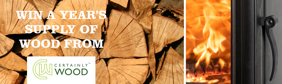 WIN a year's supply of British kiln dried logs!