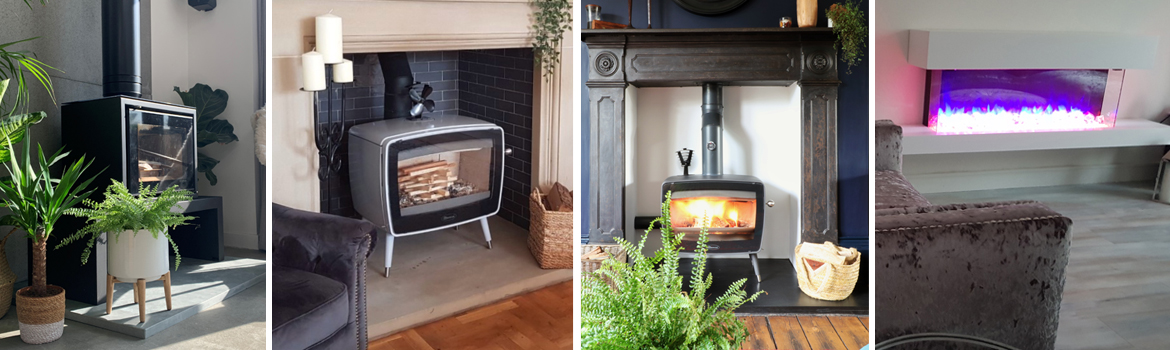 Winter warmers – real cosy stoves and fires!