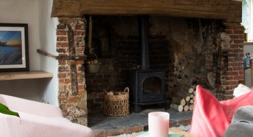 Stovax Stockton log burner features on Old House, New Home
