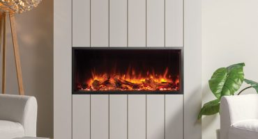 Best electric fireplace feature wall