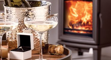 Turn up the heat this Valentine's Day with a new stove from Stovax & Gazco