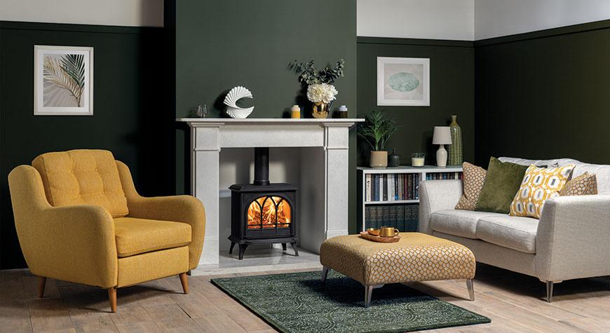 Stovax Huntingdon 30 Wood burning and multi-fuel stove