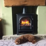 "Gazco Stockton 5 Electric Stove – ""Winter ready with our cosy new fire"""