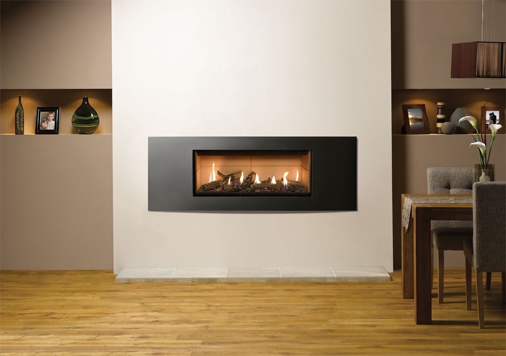 Studio Verve Gas Fires Gazco Built In Fires