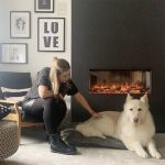 Fiona, Scandinavian style, eReflex electric fire