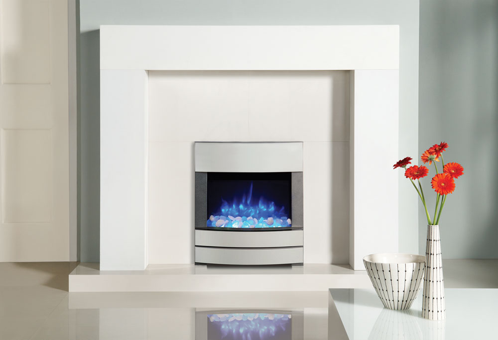 Logic2 Electric Progress Fire Gazco Built In Fires Contemporary Fireplaces Hearth Mounted Fires