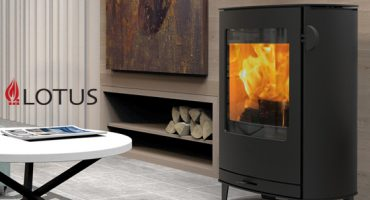 All-new wood burning stove from Lotus!