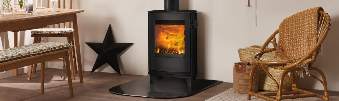 A wood burning stove designed for urban living!