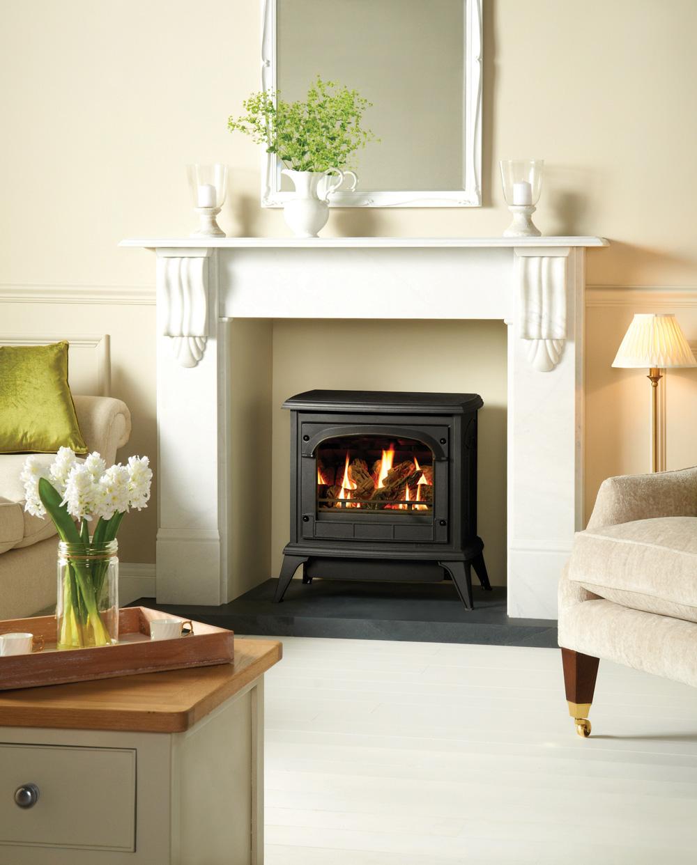 clarendon gas stoves gazco traditional stoves. Black Bedroom Furniture Sets. Home Design Ideas