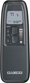 Programmable upgradeable remote control for Riva 53 and 67