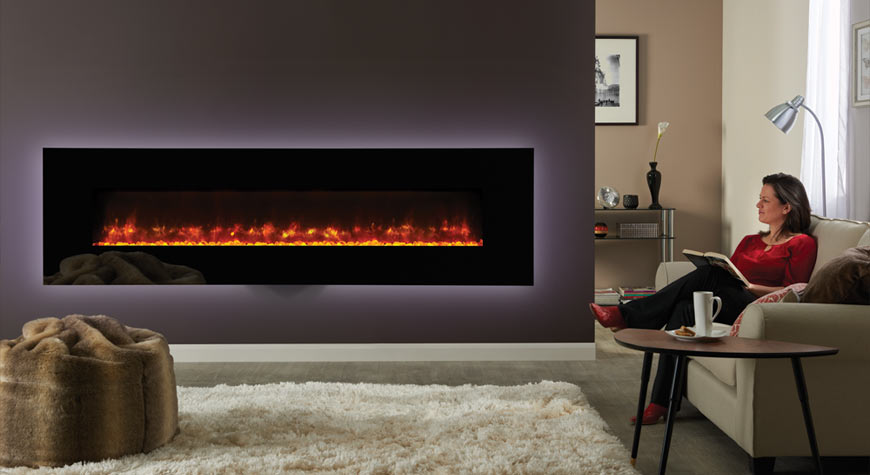 Radiance Glass Electric Fires Gazco Electric Fires
