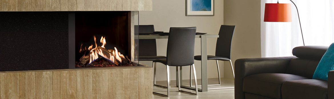 Gazco Reflex 75T-2 and 75T-3 Gas Fires are Multi-sided Masterpieces