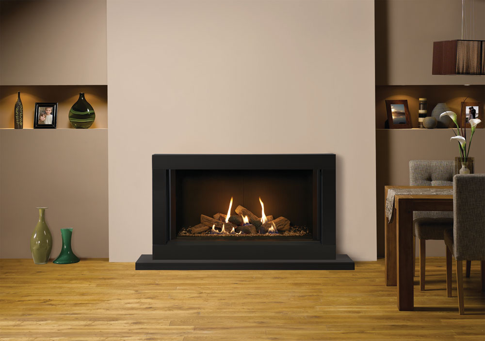 Riva2 1050 sorrento gas fires for Fireplace surrounds for gas fires