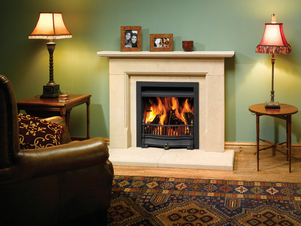 Riva Traditional Wood Burning Open Convector Fires