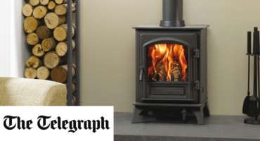 Stovax Riva Plus, as seen in the Telegraph!